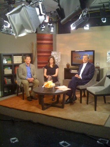 "J. Mark White Discussing Garden Design on WJLA NewsChannel8's ""Let's Talk Live!"""