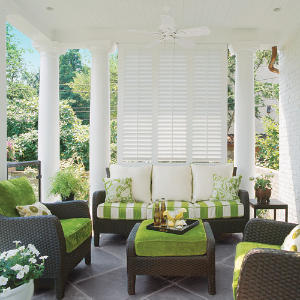 Southern living magazine on gardenwise porches for Outdoor living magazine