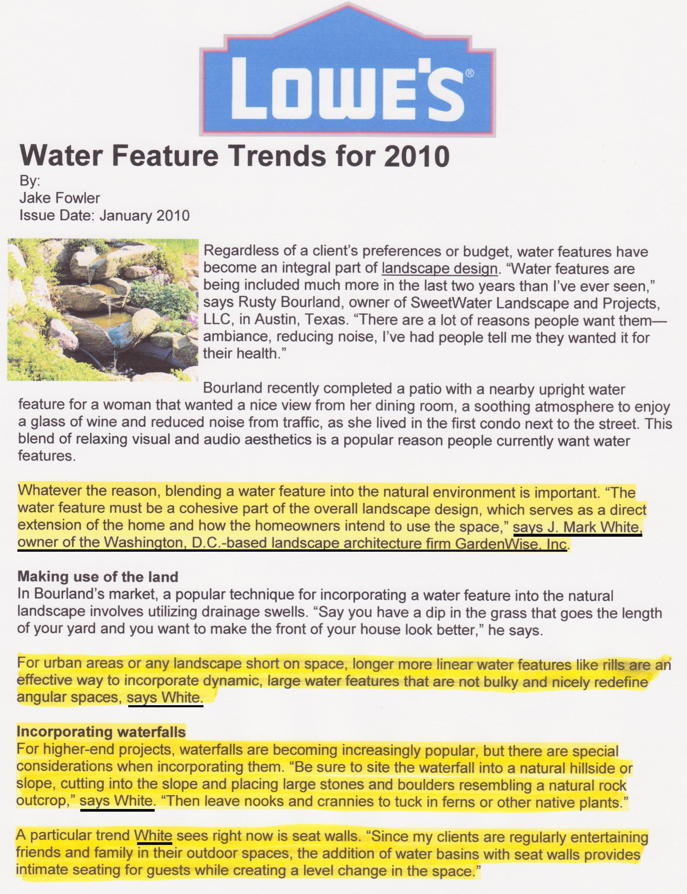 landscape architecture gardenwise blog water fountains make an impact