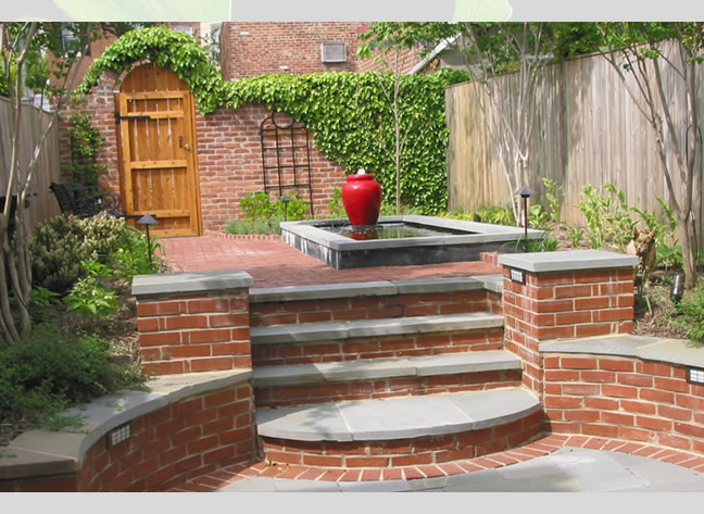 Curb appeal designers gardenwise blog for Brick steps design ideas